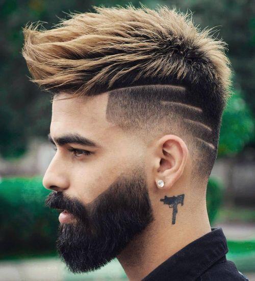 Corte de pelo hombre tipo cepillo