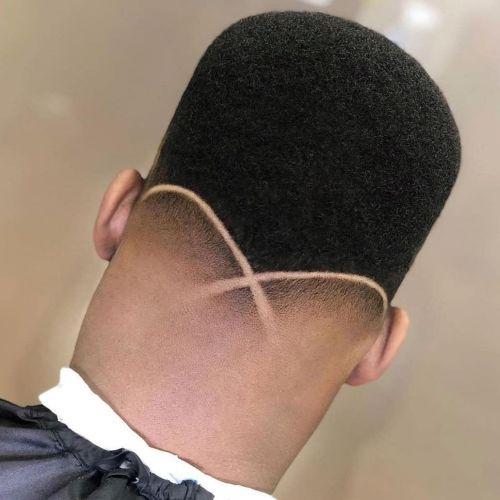 Corte de pelo a lo afro hombre