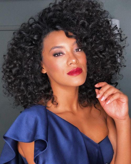 Santana Raiza curly girl
