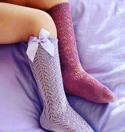 Calcetines calados