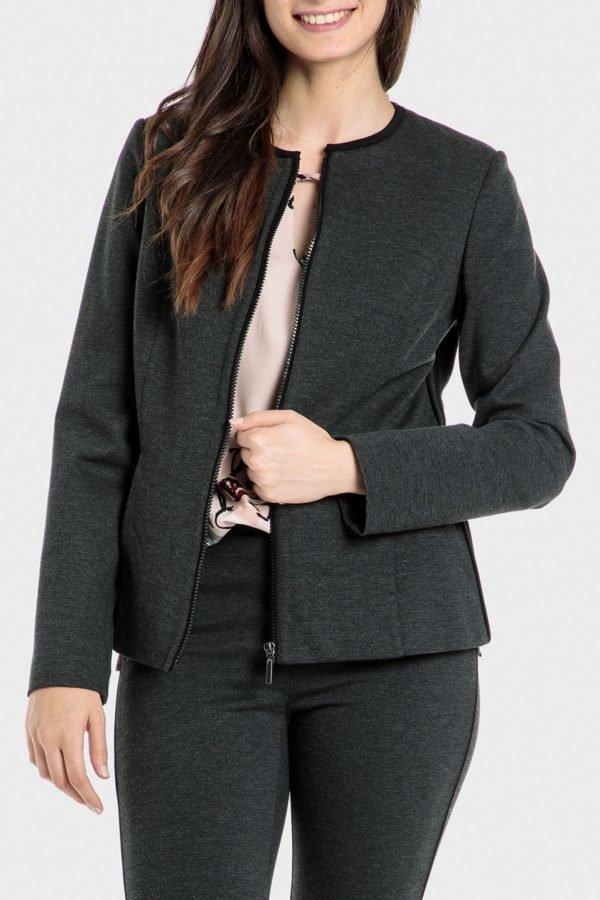 Catalogo punto roma otoño invierno 2021 2022 chaqueta ligera gris