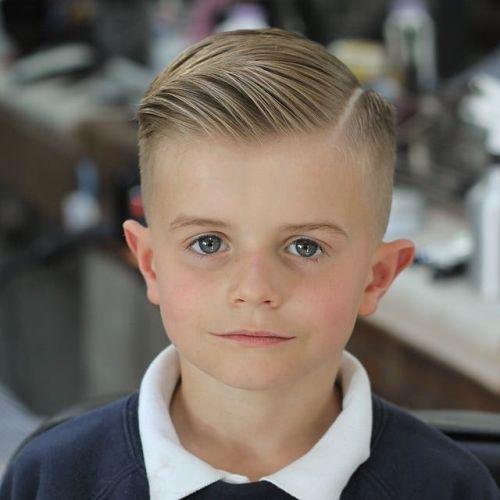 Corte de pelo clásico niño