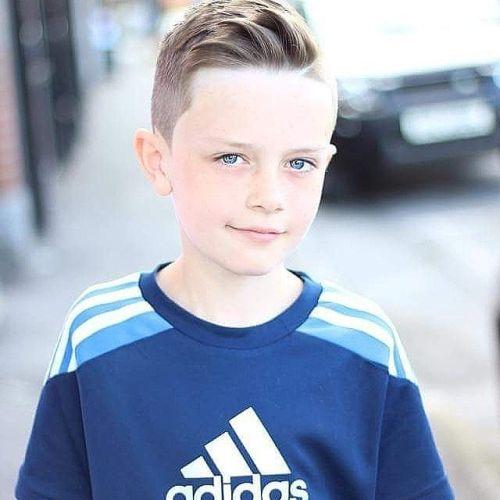 Corte de pelo clásico para niños