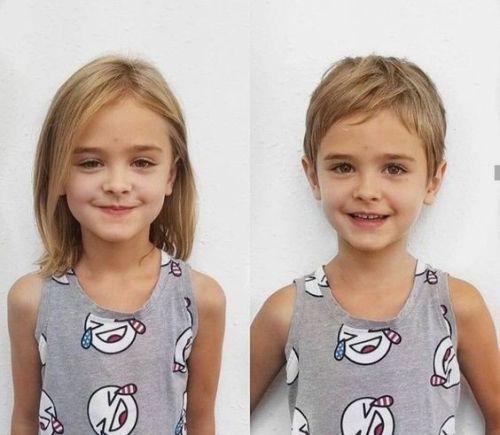 Corte de pelo corto niñas