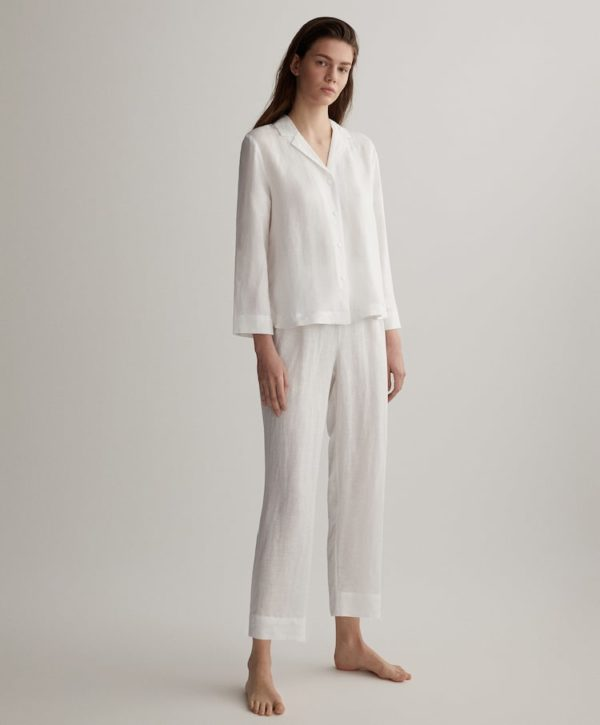Rebajas verano 2021 oysho pijama lino