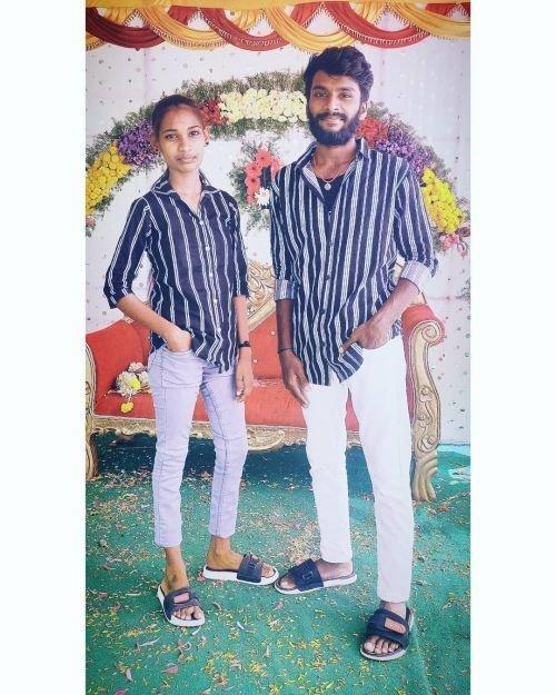 Twinning parejas pantalones y camisas