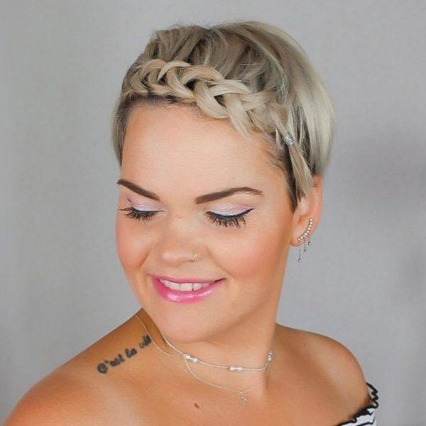 Peinados para dejar crecerte el pelo trenza lateral por delante