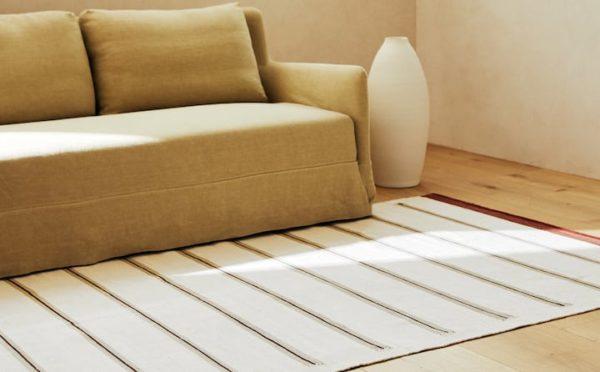 Rebajas zara home verano 2021 alfombra algodon