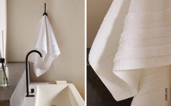 Rebajas zara home verano 2021 toalla blanca
