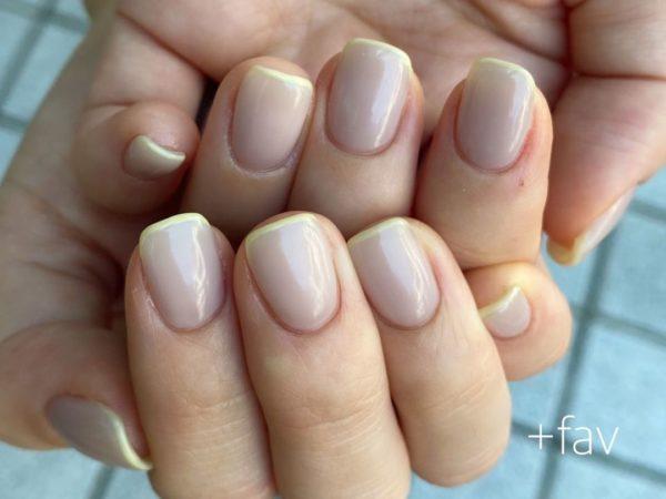 Uñas beige 2022 uñas manicura francesa