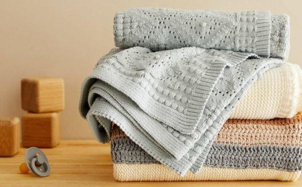 Zara home kids otoño invierno 2021 2022 manta algodon estructura