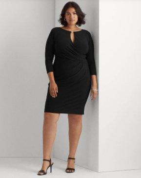Vestido negro de Ralph Laurent Women