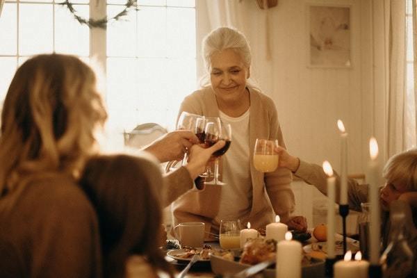 Familia en Acción de Gracias
