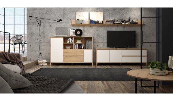 Catalogo de muebles rey estantes dobles