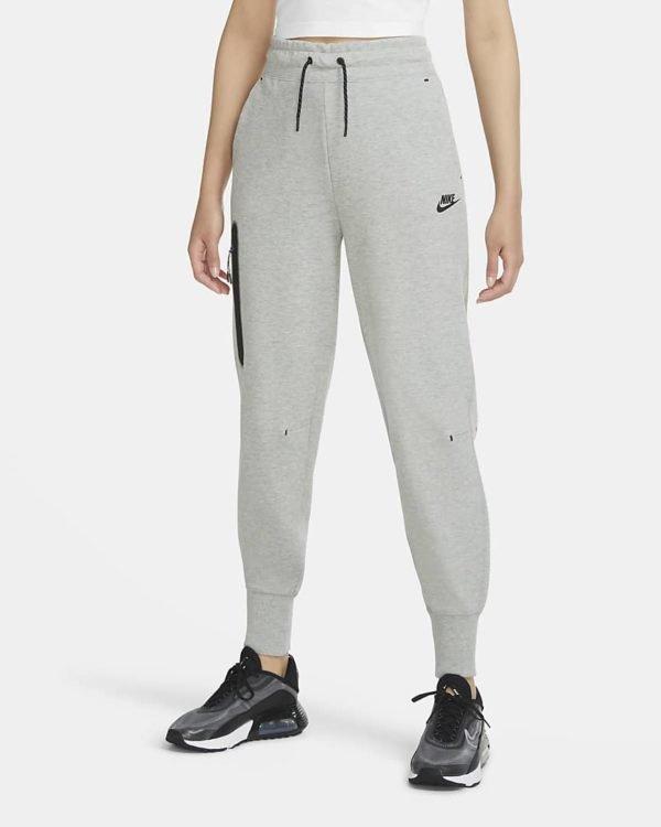 Catalogo nike para mujer otoño invierno 2021 2022 sudaderas pantalones chandal gris