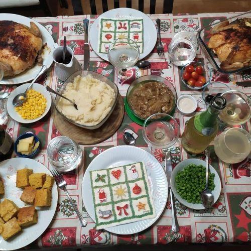 Cena de Acción de Gracias menú