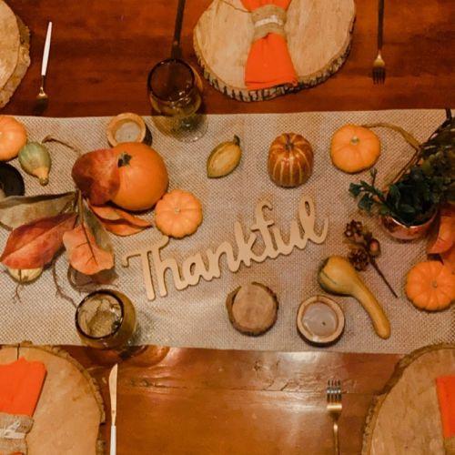 Decoración Día de Acción de Gracias