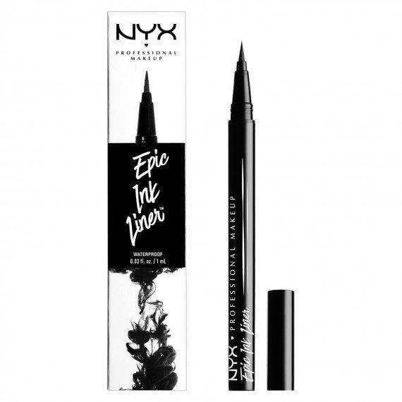 Mejores eyeliners delineadores de ojos epic ink nyx