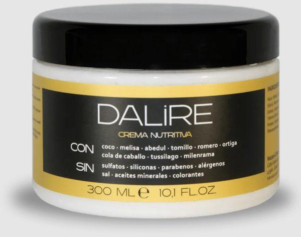 Mejores mascarillas para pelo rizado crema hidratante dalire