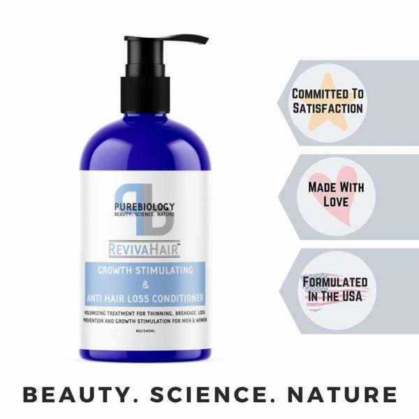 Que acondicionador usar para que el pelo crezca mas rapido y sano los 5 mejores Pure Biology