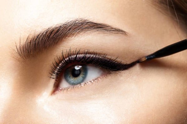 Tipos eyeliner delineador ojos