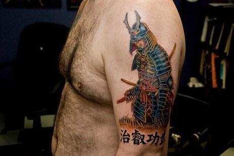 Tatuajes de Samuráis