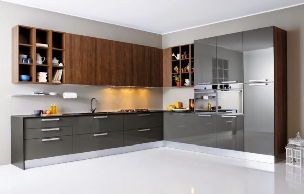 50-ideas-combinar-los-colores-la-cocina-modelo-pedini-colores-marron-gris-metalizado