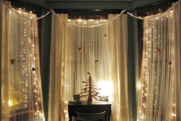Decorar-las-cortinas-para-la-Navidad-2014