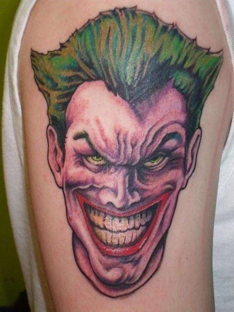 Tatuajes de joker