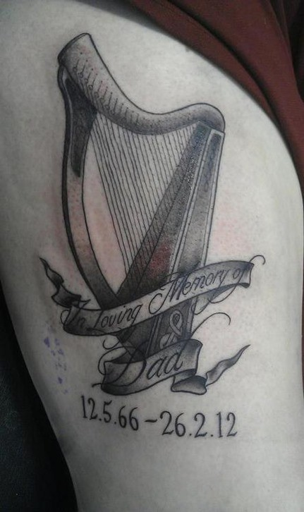 Tatuaje arpa2