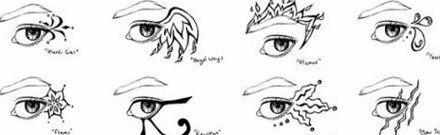 Tatuajes de ojos diseños