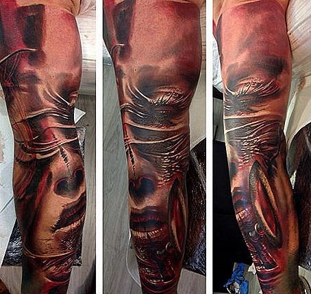 Tomasz Tofi Torfinski tattoos