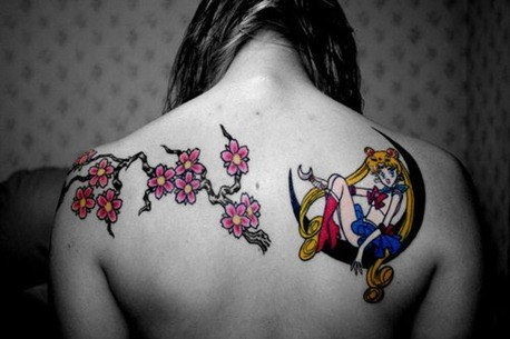 Tatuaje estilo Manga