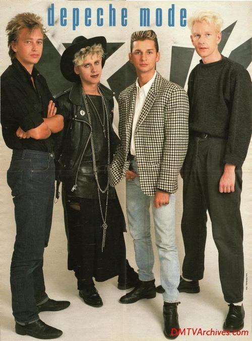 banda de los 80 depeche mode