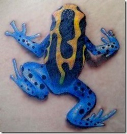 Tatuajes de ranas