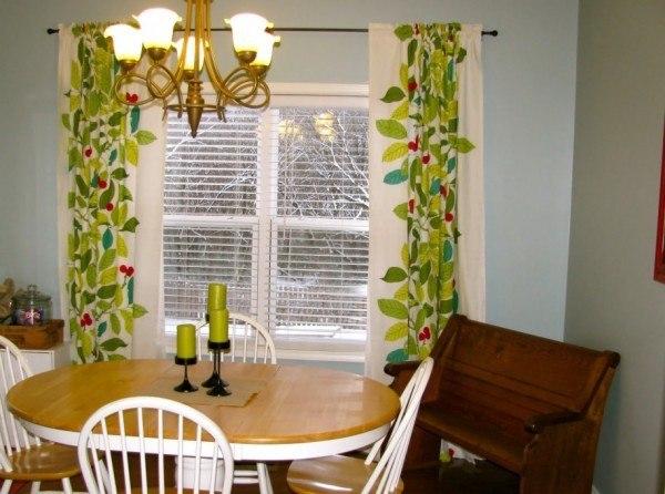 colores-de-cortina-para-la-navidad-2014-cortina-verde