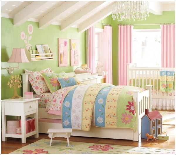 colores-de-moda-2016-dormitorio-nina-verde