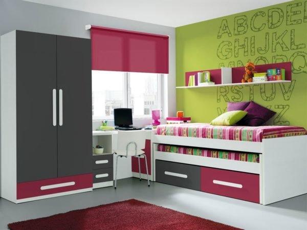 colores-para-dormitorio-juvenil-color-verde-fucsia-gris