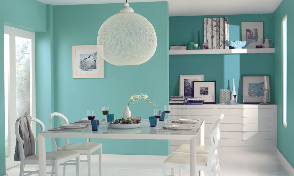 colores-para-paredes-2016-comedor-turquesa