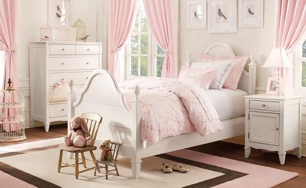 decoracion-habitacion-ninas-estilo-clasico