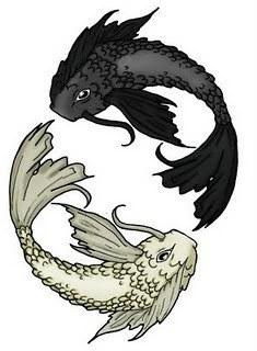 Tatuajes asiáticos - pez koi