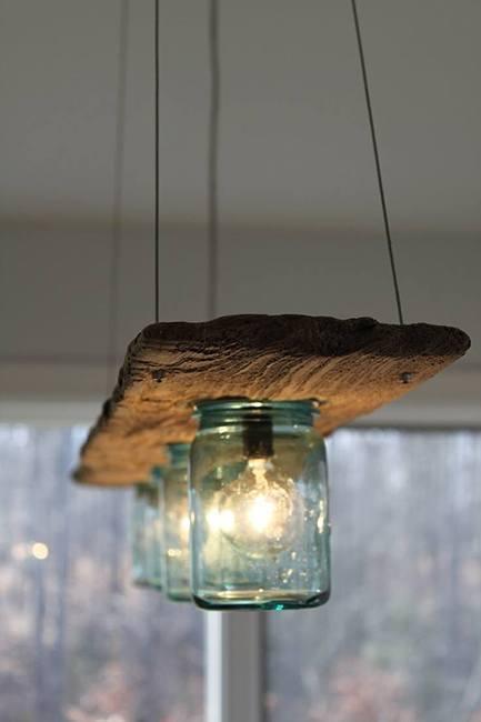 lampara decorativa creativa