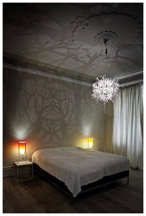 lampara decorativa dormitorio