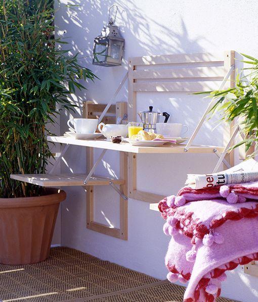 mesa plegable jardin