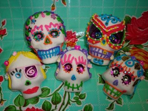 tattoos sugar skull-calaveras de azúcar