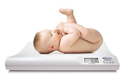tabla de peso para bebes
