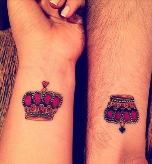 tatuajes rojos