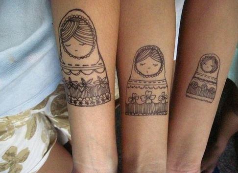 tres amigas tatuajes