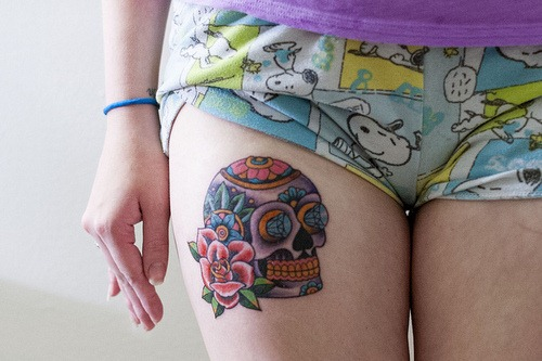 tattoo sugar skull