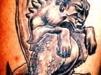 Tatuaje de gargola